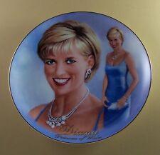 Diana: A Woman of Style Glowing And Glamorous Plate #5 + Coa Princess Di