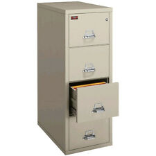 Fireking Fireproof 4 Drawer legal File Cabinet NEW 4-2157