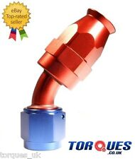 AN -8 (AN8 JIC -8 ) 30 Degree Teflon PTFE Fuel Hose Fitting Aeroquip