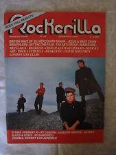 ROCKERILLA N.54/1985 THE LAST WAVE HUSKER DU AFRO REGGAE CHOCOLATE WATCH B