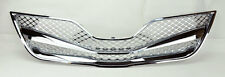 Toyota Camry 10-11 Honeycomb Mesh Chrome Front Hood Bumper Grill