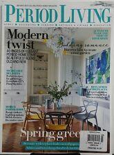 Period Living UK March 2017 Modern Twist Elegant Homes Vintage FREE SHIPPING sb