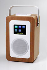 Radio Digitale Red Line Dab Play R1 - BT50A Legno Cherry - Wifi Spotify Internet