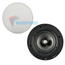 """Polk Audio V60 Delgado Ultra superficial 6 1/2"""" de alto rendimiento en-Altavoz De Techo Nuevo"""