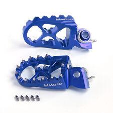MOJO Yamaha Footpegs - CNC Billet 7075 Aluminum   MOJO-YAM-FP