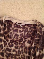 Gerard Darel Leopard wool twinset-top and cardigan