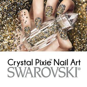 Swarovski® Nail Art Crystal Pixie™ Petite Edge Bubble Medium & Large 2G, 5G, 10G
