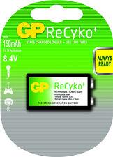 GP Batteries ReCyko 9v NiMH Battery