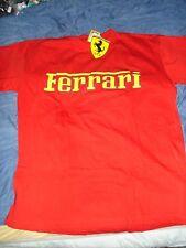T-shirt Gr.L  Ferrari Emblem Formel 1 Rennsport Fanartikel