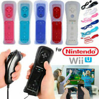 Remote Controller +Nunchuk Gamepad Built in MOTION PLUS Lot For Nintendo Wii/Wii