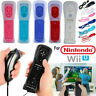 Remote Nunchuck Controller WITH Motion Plus inside Lot For NINTENDO WII* Wil