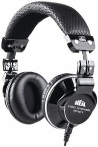 Heil Sound Stereo Studio Headphones with Phase Reversal Switch - Pro Set 3