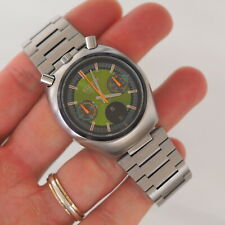 (Please,READ) Citizen BULLHEAD Extra RARE GREEN DIAL 67-9011 caliber 8110 MINT
