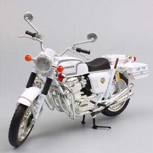 1/12 scale automaxx HONDA DREAM CB750 FOUR police Motorcycle Diecast bike model