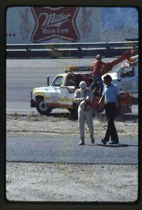 Rick Mears #28 Wreck - 1978 USAC Bobby Ball 150 @ Phoenix - Vtg Race Slides x2