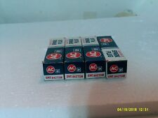 4 AC DELCO GM ACNITER II R42TSM SPARK PLUGS NEW OLD STOCK