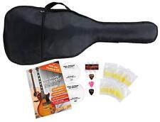 CC 5-teiliges Zubehörset für 1/2 Klassikgitarre Gitarrentasche, Plektren, Saiten