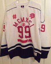 NEW Southpole 99 Men's White Red Hockey Jersey Size Large #99