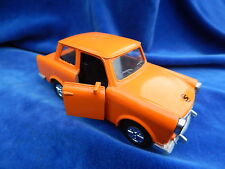 SUNNYSIDE - VINTAGE - 1/24 VOITURE / Car - TRABANT ORANGE - SYMPA / Nice ! TOP