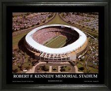 WASHINGTON REDSKINS @ OLD RFK STADIUM 22X28 FRAME