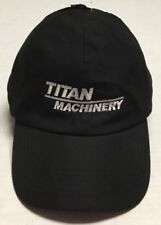 Titan Machinery Trapper Hat Construction Agriculture Equipment Cap North Dakota