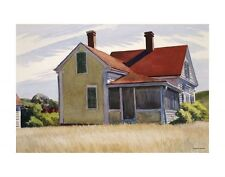 "MARSHALL'S HOUSE, 1932 BY EDWARD HOPPER    ART PRINT POSTER 14"" X 11"" (2753)"