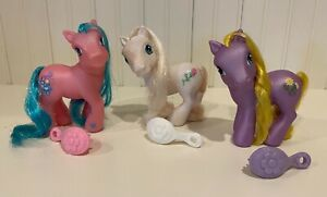 LOT OF 3 MY LITTLE PONIES: BUNCHES-O-FUN, DESERT ROSE & DAISY JO G3