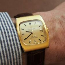 Vintage 1970 OMEGA Constellation Chronometer 168.044 Gold Capped Gents Watch