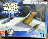 Star Wars Naboo Star Wo Starfighter New Episode 1 Die Cast 1:48 Model Kit By AMT