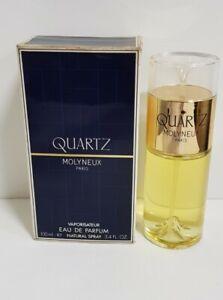 QUARTZ MOLYNEUX Eau De Parfum 100ml Spray,  Vintage.