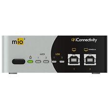 iConnectivity mio2 MIDI Interface, 2x2 USB MIDI Interface