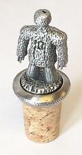 Wicker Man Païen Fabriqués à la Main Étain Bouchon de Bouteille Economiseur Vin