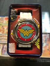 Wonder Woman Fidget Spinner Accutime Wrist Watch Corp Nice Quality New!