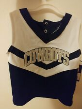 NFL Dallas Cowboys Cheerleader Outfit Size 4T