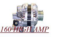 HONDA 2009-2008 2007 2006 Honda Civic 1.8L 160 HIGH AMP ALTERNATOR HIGH OUTPUT