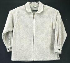 L.L. Bean Women's Large VTG Micro Supreme Acrylic Blend Full Zip Sweater Jacket