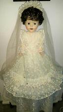 "Vintage 1950s PEDIGREE 28"" BRIGHTON BELLE Bride Doll"