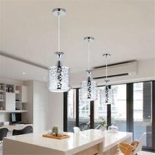 Ceiling Light Modern Crystal Iron Pendant Lamp Dining Room Chandelier Decor