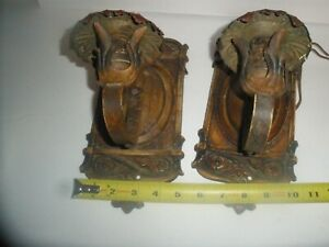 Antique Cast Iron wall lights sconces