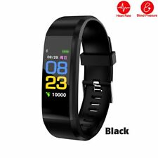 Pedometer Bluetooth Fitness Sleep Heart Monitor Watch Calorie Running Tracker