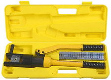New Listinghydraulic Wire Terminal Crimper Battery Cable Lug Crimping Tool Dies Wire 16t