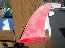 vintage surfing surfboard fin surfer 1970s noll bing weber red longboard surf