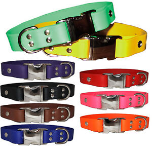Brand New Auburn Leathercrafters Durable Leather Sparky's Choice Dog Pet Collars