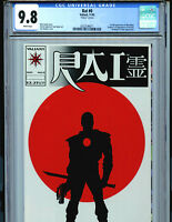 Rai Issue #0 CGC 9.8  NM/MT GLOSSY Cover Variant Valiant Comic 1992 Amricons K3