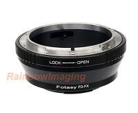 Adapter for Canon FD Lens to Fuji Fujifilm X-Mount X-T20 XT-10 X-T2 X-T1 X-T3