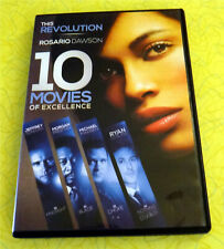 10 Movies of Excellence ~ 2-Disc DVD Set ~ Rare Rosario Dawson