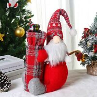 Christmas Tree Wine Bottle Cover Table Decor Xmas Ornament Christmas Decoration