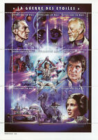 Mali 1997 MNH Star Wars Luke Skywalker Han Solo Darth Vader 9v M/S Stamps