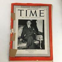 Time Magazine March 10 1941 Vol 37 #10 Ambassador Gaston Henry-Haye