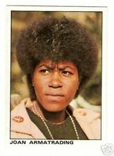 Joan Armatrading Vintage Panini Pop Rock Sticker Card